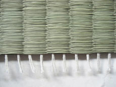For Chinese omote only one or two cotton strings are used.