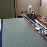 ボストン市内にあるお茶室(裏千家教師様の畳の表替