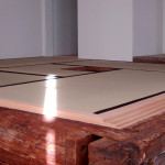 ニューヨーク Sugimoto Studio(武者小路千家)内お茶室の畳