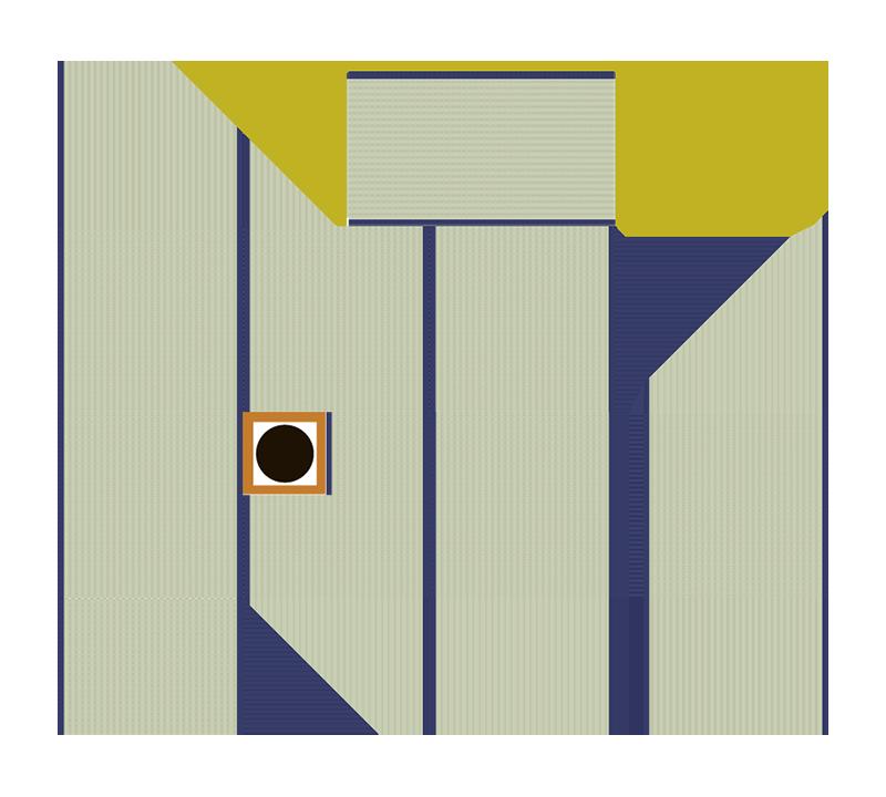 Three (3) tatami tea room:  Full set