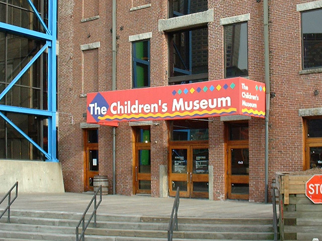 the Children's Museum. Boston