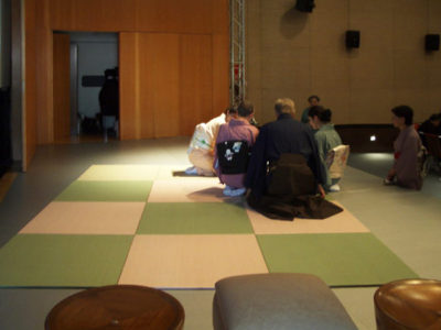 Urasenke Tea Ceremony Event. Rome