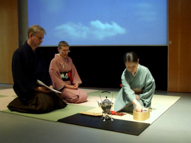 Urasenke Tea Ceremony Event. Rome