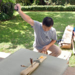 Tatami-omote-gae at several private homes in Los Angeles