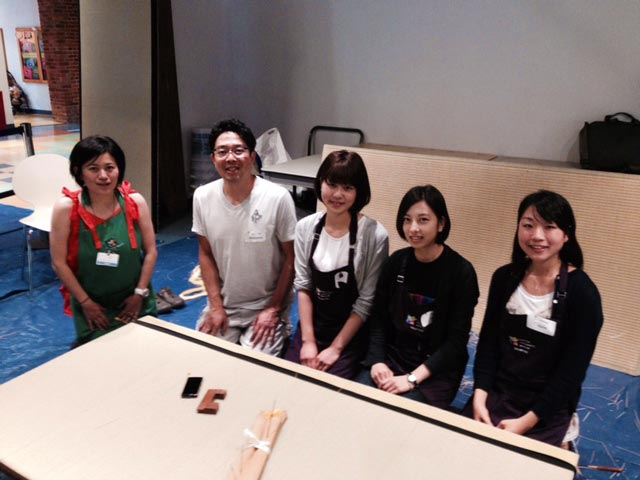 Tatami-gae for Children's Museum. Boston, U.S.
