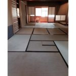 Tatami-gae for a tea room in Showa Boston Institute for Language and Culture