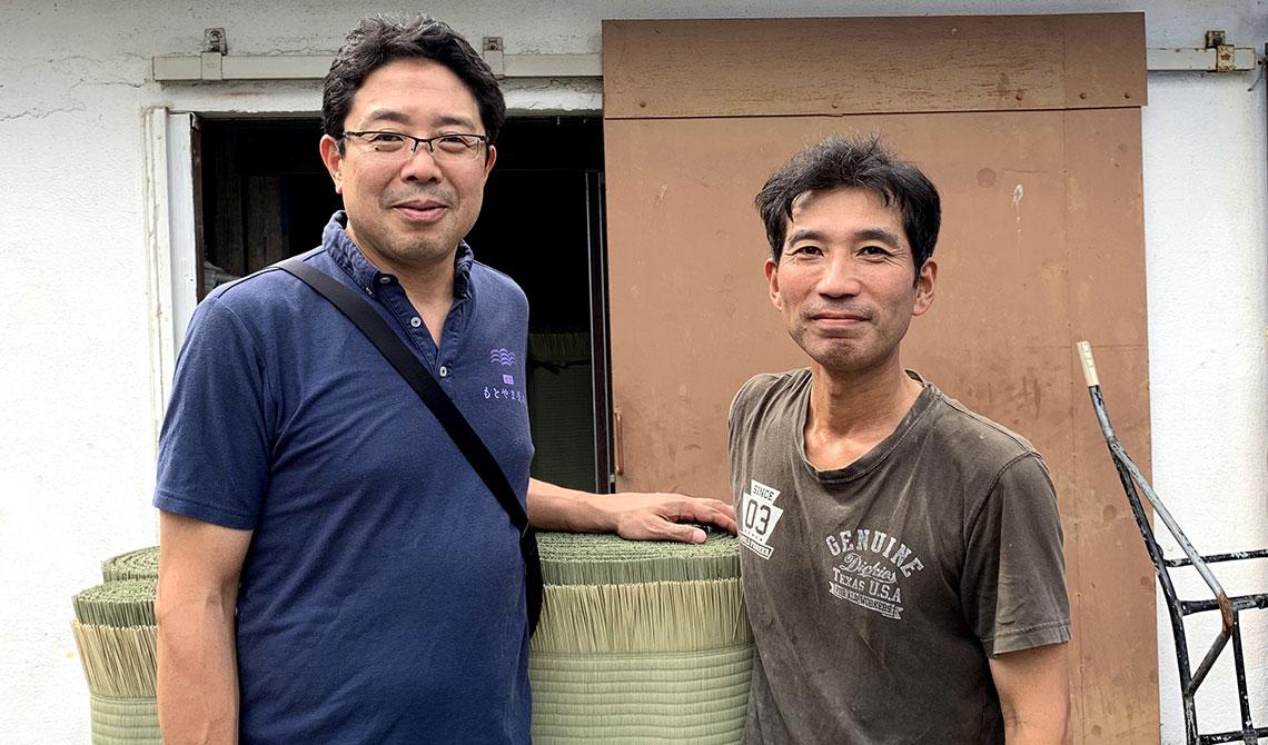 宮本政樹さん(右)と当店店主
